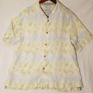 Tommy Bahama 100% Linen Hawaiian Shirt